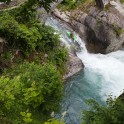 Nothern Italy, Valle d'Aosta region. Ayasse river. Rider: Vania Rybnikov. Photo: Konstantin Galat