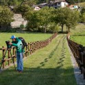 Nothern Italy, Valle d'Aosta region. RTP cameramen - Oleg KOlmoskiy. Photo: Konstantin Galat