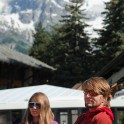 Nothern Italy, Valle d'Aosta region. Montblanc - Courmaeur. Aliona Buslaieva and Egor Voskoboynikov. Photo: Konstantin Galat