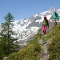 Nothern Italy, Valle d'Aosta region. Montblanc. Aliona Buslaieva and Oleg Kolmovsiy. Photo: Konstantin Galat