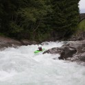 Nothern Italy, Valsesia valley. Sesia river. Rider: Vania Rybnikov. Photo: Oleg Kolmovskiy