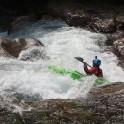 Nothern Italy, Valsesia valley. Sorba river. Rider: Vania Rybnikov. Photo: Oleg Kolmovskiy