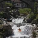 Nothern Italy, Valsesia valley. Gronda river. Rider: Dmitriy Danilov. Photo: Oleg Kolmovskiy
