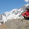 Italy, Valle d'Aosta region, Montblanc massive. Egor Voskoboynikov. Photo: Aliona Buslaieva
