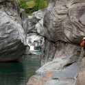 Switzerland. Verzasca river. Rider: Alexey Lukin. Photo: Dmitriy Danilov