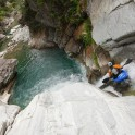 Switzerland. Ribo river. Rider: Dmitriy Danilov. Photo: Konstantin Galat