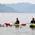 Switzerland. Lake Maggiore. Alona Buslaiva and Egor Voskoboynikov. Photo: Oleg Kolmovskiy