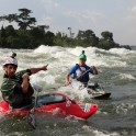 Uganda. Nile river. Riders: Dmitriy Danilov and Alexey Lukin. Photo: Konstantin Galat