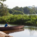 "Uganda. Nile river. Dmitriy Danilov in ""Hairy Lemon"" camp. Photo: Konstantin Galat"