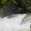 """Uganda. Nile river. """"Kalagala"""" rapid. Rider: Vania Rybnikov. Photo: Konstantin Galat"""