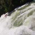 """Uganda. Nile river. """"Kalagala"""" rapid. Rider: Dmitriy Danilov. Photo: Konstantin Galat"""