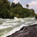 Uganda. Nile river. Rider: Alexey Lukin. Photo: Konstantin Galat