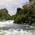 "Uganda. Nile river. ""Kalagala"" rapid. Photo: Konstantin Galat"