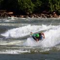 """Uganda. White Nile. """"Club"""" wave. Rider: Alexey Lukin. Photo: Konstantin Galat"""