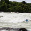 Uganda. White Nile. Itanda rapid. Rider: Alexey Lukin. Photo: Konstantin Galat