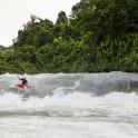 (Uganda. White Nile, Itanda rapid. Rider: Dmitriy Danilov. Photo: Konstantin Galat