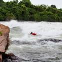 Uganda. White Nile, Itanda rapid. Rider: Dmitriy Danilov. Photo: Konstantin Galat