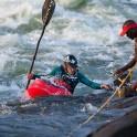 """Uganda. White Nile river, """"Nile Special"""" wave. Rider: Vania Rybnikov. Photo: Oleg Kolmovskiy"""