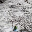 Georgia. Upper Svaneti. Inguri river. Rider: Semen Lurye. Photo: Oleg Kolmovskiy
