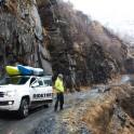 Georgia. Upper Svaneti. RTP cameraman - Oleg Kolmovskiy. Photo: Konstantin Galat