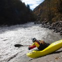 Georgia. Upper Svaneti. Inguri river. Rider: Egor Voskoboynikov. Photo: Oleg Kolmovskiy