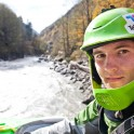 Georgia. Upper Svaneti. Inguri river. Rider: Sergey Ilyin. Photo: Oleg Kolmovskiy