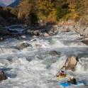 Georgia. Rioni river. Kayakers Artem Trifonov and Semen Lurie. Photo: K. Galat.