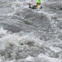 Georgia. Tskhineskali river. Kayaker Sergey Ilyin. Photo: K. Galat.