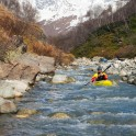 Georgia. Upper Svaneti. The source of Inguri river. Rider: Egor Voskoboynikov. Photo: Konstantin Galat
