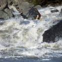 Georgia. Upper Svaneti. Inguri river. Rider: Artem Trifonov. Photo: Konstantin Galat