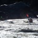 Georgia. Upper Svaneti. Inguri river. Riders: Sergey Ilyin and Artem Trifonov. Photo: Konstantin Galat