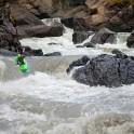 Georgia. Upper Svaneti. Inguri river. Rider: Sergey Ilyin. Photo: Konstantin Galat