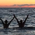Georgia. Adzharia. Black sea. Semen Lurye and Sergey Ilyin. Photo: Oleg KOlmovskiy