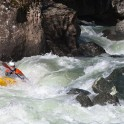 Georgia. Upper Svaneti. Nenskra river. Rider: Artem Trifonov. Photo: Konstantin Galat