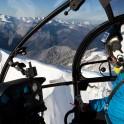 Russia. Krasnaya Polyana. Helicopter Alouette of Heliaction company. Pilot - Alexander Davydov. Photo: Konstantin Galat
