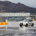 Russia. Sochi. RTP official car - Subaru Forester on the race track of Sochi Autodrom. Photo: Konstantin Galat