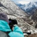 Russia. Nothern Osetia. Ardon valley. RTP cameramen - Oleg Kolmovskiy. Photo: Konstantin Galat