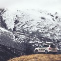Russia. Nothern Osetia. RTP official car Subaru Forester in Fiagdon valley. Photo: Sergey Puzankov
