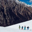 Russia. Nothern Osetia. RTP riders. Backcountry in Tsey valley. Photo: Sergey Puzankov