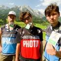 Austria, Leogang. UCI Downhill World Cup. RTP film crew. Photo: Artem Kuznetsov