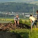 Slovakia. Liptovskiy Mikulash region. Kirill Churbanov (Benderoni), Oleg Kolmovskiy and Konstantin Galat. Photo: Artem Kuznetsov
