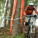 Austria, Leogang. UCI Downhill World Cup. RTP rider - Nikolay Pukhir. Photo: Konstantin Galat