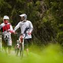 Austria. Salzburgerland. Riders - Nikolay Pukhir and Petr Vinokurov. Photo: Konstantin Galat