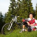 Austria. Salzburgerland. Rider - Nikolay Pukhir. Photo: Konstantin Galat