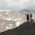 Russia. South Elbrus. Riders - Petr Vinokurov and Vitaliy Khripunov. Photo: Konstantin Galat