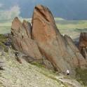 Russia. North face of Elbrus. RTP team. Photo: Ludmila Zvegintseva