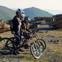 Russia. North face of Elbrus. RTP riders - Nikolay Pukhir, Pert Vinokurov and Vitaliy Khripunov. Photo: Ludmila Zvegintseva