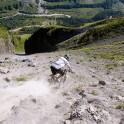 Russia. South Elbrus. Rider - Petr Vinokurov. Photo: Ludmila Zvegintseva