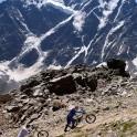 Russia. South Elbrus. Cheget massive. RTP riders. Photo: Ludmila Zvegintseva
