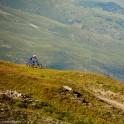 Russia. South Elbrus. Mt.Cheget slopes. Rider - Nikolay Pukhir. Photo: Ludmila Zvegintseva